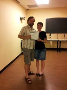 Mike Skinner Activist Award Winner 2013_Sharlee Reimer