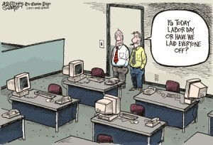 labour day layoffs