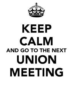 union meetings